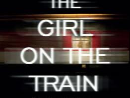 הנערה על הרכבת