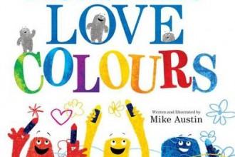 מפלצות אוהבות לצבוע - ספר ילדים באנגלית
